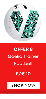 Offer 8  Gaelic Trainer Footballs £10