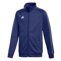 adidas Core 18 PES Jacket - Youth - Dark Blue/White