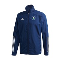 adidas Club Castlehaven GAA Condivo 20 Presentation Jacket - Adult - Navy Blue/White