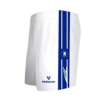 Mc Keever Castlehaven GAA Shorts - Youth - White/Blue