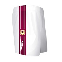 Mc Keever Bishopstown GAA Cork Shorts - Youth - White/Maroon