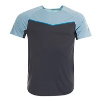 Pro Touch Akin II UX Running Tee - Mens - Anthracite/Blue Light/Blue