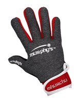 Murphy's Gaelic Gloves - Adult - Grey/Red/White