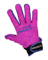 Murphy's Gaelic Gloves - Adult - Pink Marl/Blue/Black