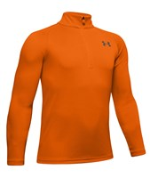 Under Armour Tech 2.0 1/2 Zip Top - Boys - Persimmon/Pitch Grey