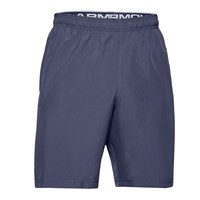 Under Armour Woven Graphic Training Shorts - Mens - Blue Ink/Mod Grey