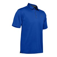 Under Armour Tech Polo Top - Mens - Versa Blue/Pitch Grey