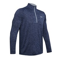 Under Armour Tech 2.0 1/2 Zip Training Top - Mens - Blue Ink/Mod Grey