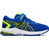 Asics GT-1000 9 PS Running Shoes - Boys - Tuna Blue/Black