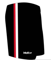 Mc Keever GAA Shorts - Youth - Black/White/Red