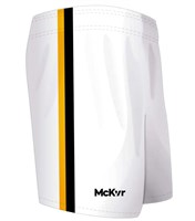 Mc Keever GAA Shorts - Youth - White/Black/Gold