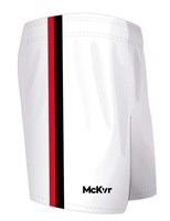 Mc Keever GAA Shorts - Youth - White/Black/Red