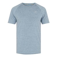 Pro Touch Rylu UX Running Tee - Mens - Melange/Blue Light