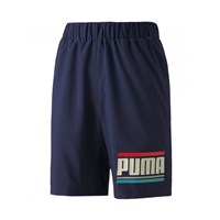 Puma Celebration Shorts - Boys - Peacoat