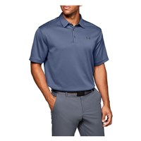 Under Armour Tech Polo Top - Mens - Hushed Blue/Pitch Grey