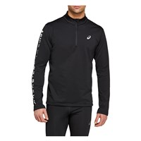 Asics Katakana Winter Running 1/2 Zip Top - Mens - Performance Black