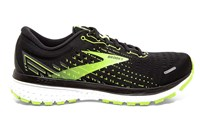 Brooks Ghost 13 Running Shoes - Mens - Black/Nightlife/White