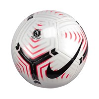 Nike Premier League Strike Football - White/Laser Crimson