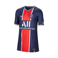Nike Paris Saint Germain 2020/21 Official Short Sleeve Stadium Home Jersey - Youth - Midnight Navy/White