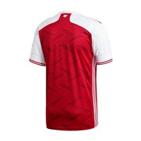 adidas Arsenal FC Official 2020/21 Short Sleeve Home Jersey - Adult - Active Maroon/White
