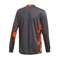 adidas Manchester United FC Official 2020/21 Goalkeeper Jersey - Youth - Carbon/Orange