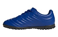 adidas Copa 20.4 Turf Football Boots - Youth - Royal Blue/White/Royal Blue