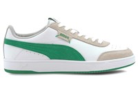 Puma Court Legend Lo Trainers - Mens - White/Green/Grey