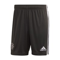 adidas Manchester United FC Official 2020/21 Away Shorts - Adult - Legend Earth