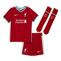 Nike Liverpool FC 2020/21 Official Home Mini Kit - Little Boy - Gym Red/White