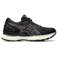 Asics Gel Nimbus 22 Knit Running Shoes - Womens - Black/Black
