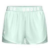 Under Armour Play Up 3.0 Shorts - Womens - Seaglass Blue/White
