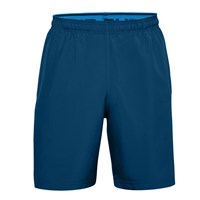 Under Armour Woven Graphic Shorts - Mens - Graphite Blue/Electric Blue