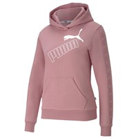 Puma Amplified Fleece Hoodie - Womens - Foxglove