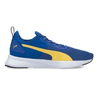 Puma Flyer Runner Trainers - Boys - Lapis Blue/Super Lemon/White