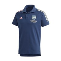 adidas Arsenal FC Official 2020/21 Polo Top - Adult - Tech Indigo