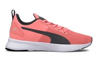 Puma Flyer Runner Trainers - Girls - Salmon Rose/Black/White