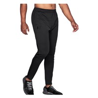 Under Armour Pique Track Pants - Mens - Black/Black