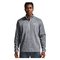 Under Armour Armour Fleece 1/2 Zip Top - Mens - Halo Grey/Black