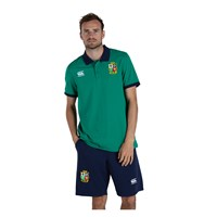 Canterbury British and Irish Lions Rugby 2021 Home Nations Polo Top - Mens - Bosphorus