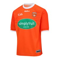 Mc Keever Armagh GAA Official Home Jersey 2020/21 - Kids - Orange