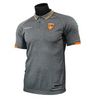 Mc Keever Armagh GAA Official Knit Polo 2020/21 - Adult - Grey
