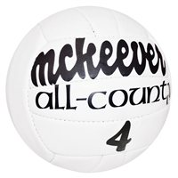 Mc Keever All-County Size 4 Match Ball (Pack of 10 + Free Net)