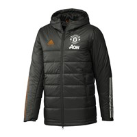 adidas Manchester United FC 2020/21 Winter Jacket - Mens - Legend Earth