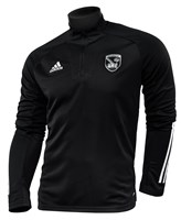 adidas Armagh GAA Condivo 20 1/4 Zip - Youth - Black
