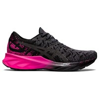 Asics Dynablast Running Shoes - Womens - Black/Pink Glow