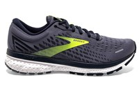 Brooks Ghost 13 Running Shoes - Mens - Grey/Navy/Nightlife