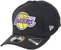 New Era Los Angeles Lakers 9Fifty Stretch Snap Back Cap - Black OFC