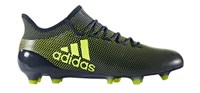 adidas X 17.1 FG Football Boots - Adult - Legend Ink/Solar Yellow