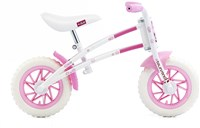 MV Townsend Duo 10 Inch Wheel Balance Bike - Girls - White/Pink