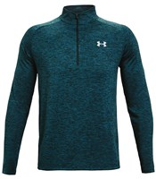 Under Armour Tech Training 1/2 Zip Top - Mens - Dark Cyan/Mod Grey
